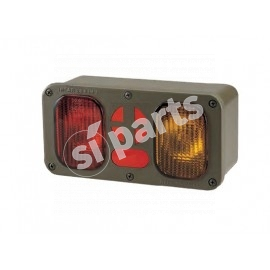 MULTI-FUNCTION REAR LAMPS WITH BLACK LIGHTS 24V