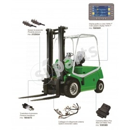 "Fork lift weighing system - by TERA 7"" LINE HMI"